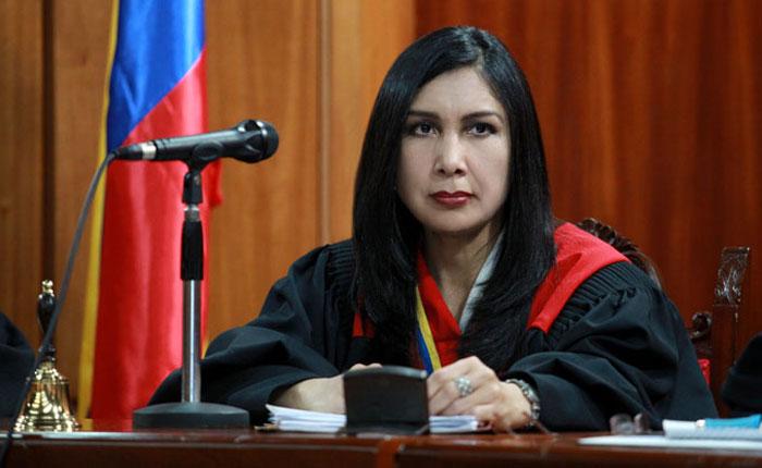 La presidenta del TSJ decidirá sobre la inmunidad