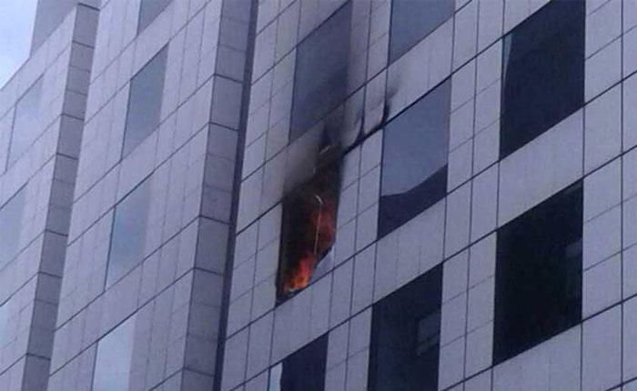 Controlan incendio en la embajada de Venezuela en Bogotá