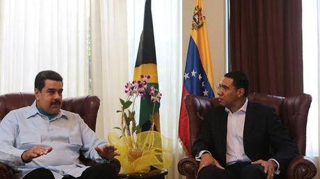 """Viaje de Maduro a Jamaica busca """"fortalecer Petrocaribe como instancia exitosa"""""""