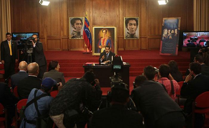 """Nicolás Maduro: """"La Asamblea de Venezuela perdió vigencia"""""""