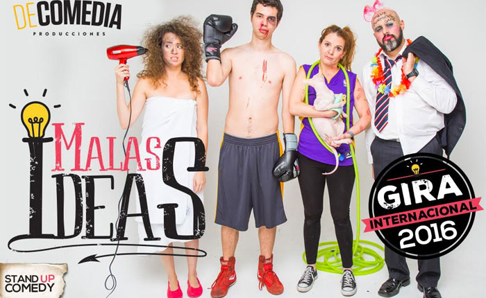 "Stand-Up ""Malas ideas"" llega a Miami"