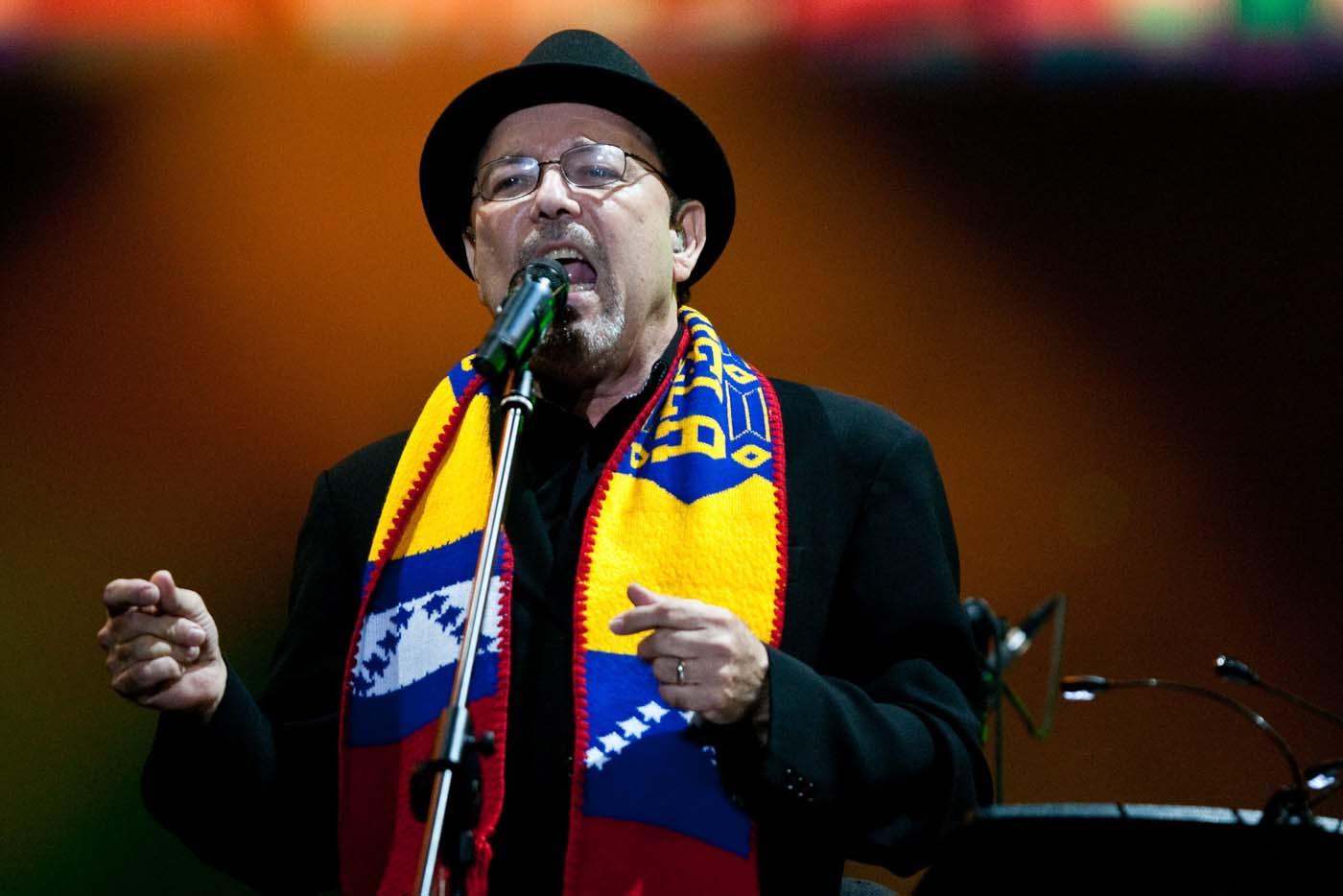 Rubén Blades define a Venezuela como una dictadura