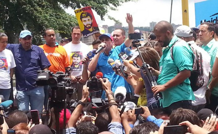 Oposición anuncia nueva marcha al CNE para el próximo miércoles