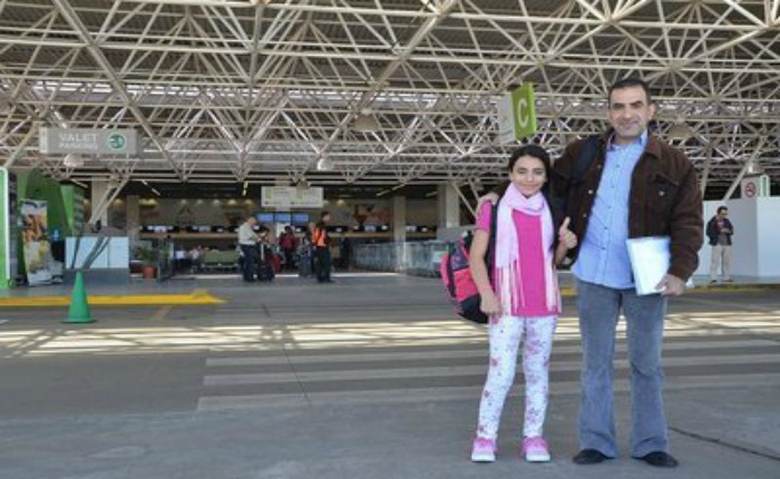 Niña siria refugiada llevó Antorcha Olímpica en Brasilia