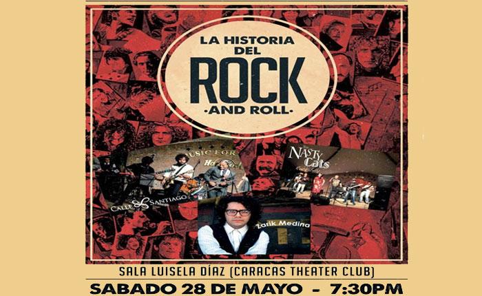 tributo a la historia del rock eclipsar caracas el 28 de mayo