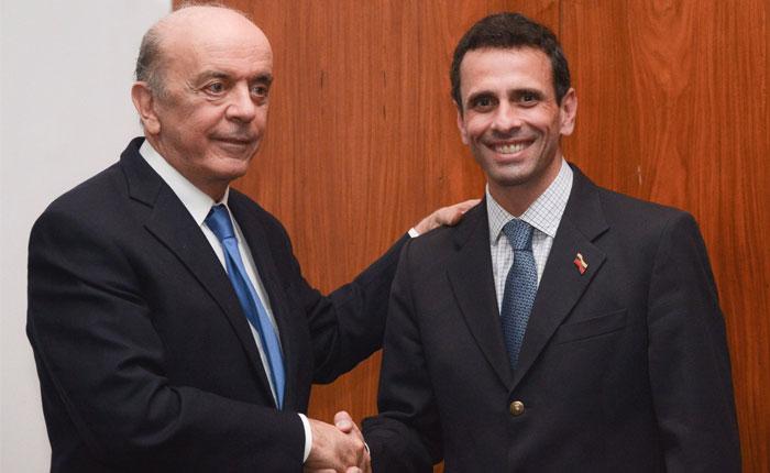 """Capriles: """"Sería inaceptable que Maduro asuma la presidencia del Mercosur"""""""
