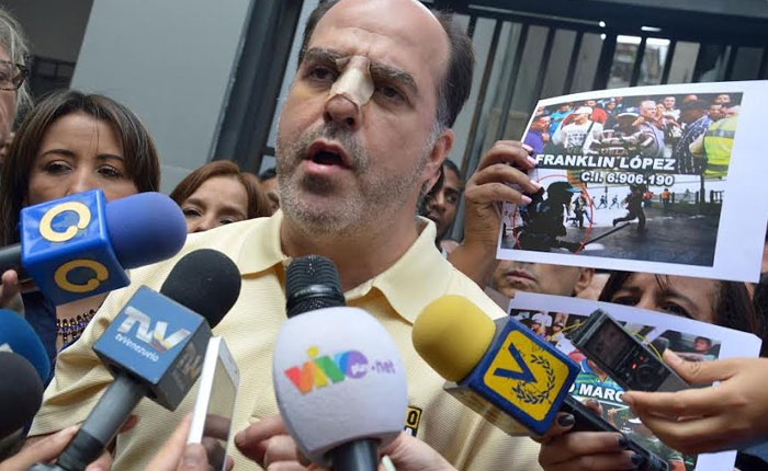 Julio Borges denunció ante el Ministerio Público  al general Fabio Zavarse por violación a los  Derechos Humanos