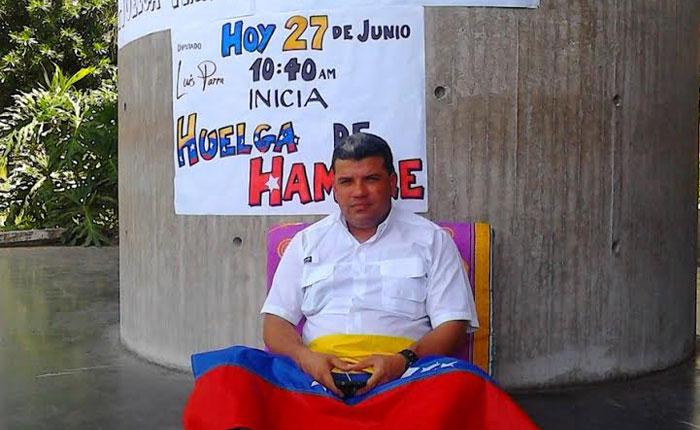 Diputado inicia huelga de hambre en Yaracuy para exigir liberación de presos políticos