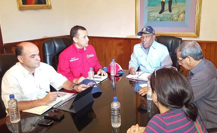 Aristóbulo Istúriz anuncia intervención la policía de Sucre tras saqueos