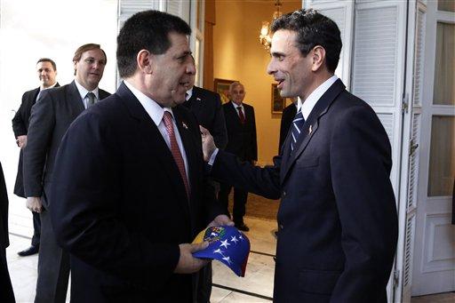 Horacio Cartes,Henrique Capriles