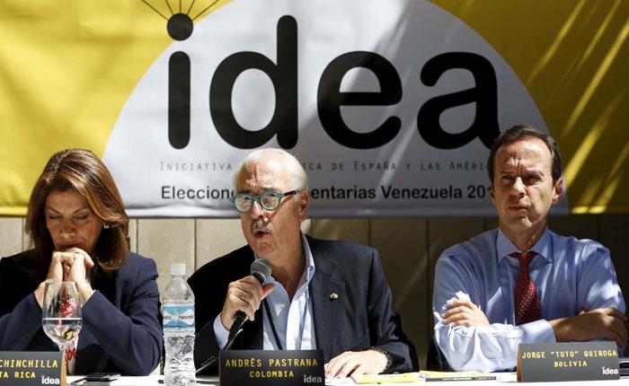 Expresidentes Chinchilla, Pastrana y Quiroga: La Carta Democrática, la OEA y Venezuela