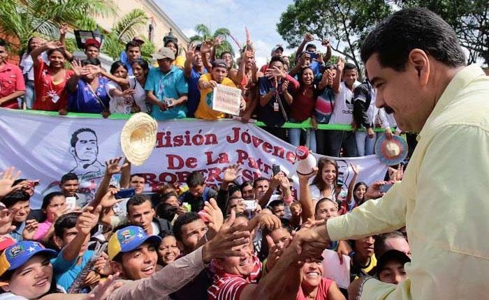 Maduro llamó a marchar contra Luis Almagro este sábado en todo el país