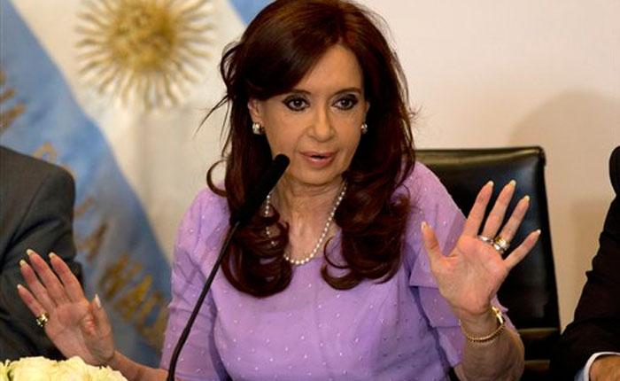 Juez ordena congelar cuentas bancarias de Cristina Fernández
