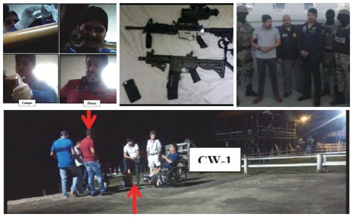 Lo que dicen las nuevas imágenes del caso de los sobrinos de Cilia Flores