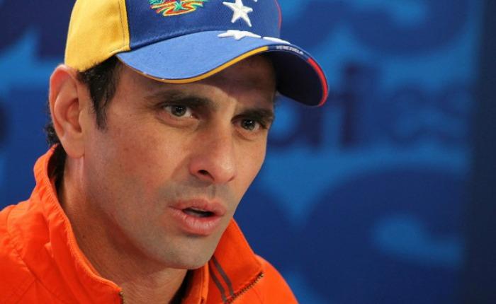 Capriles no descarta que marcha del miércoles se dirija a Miraflores