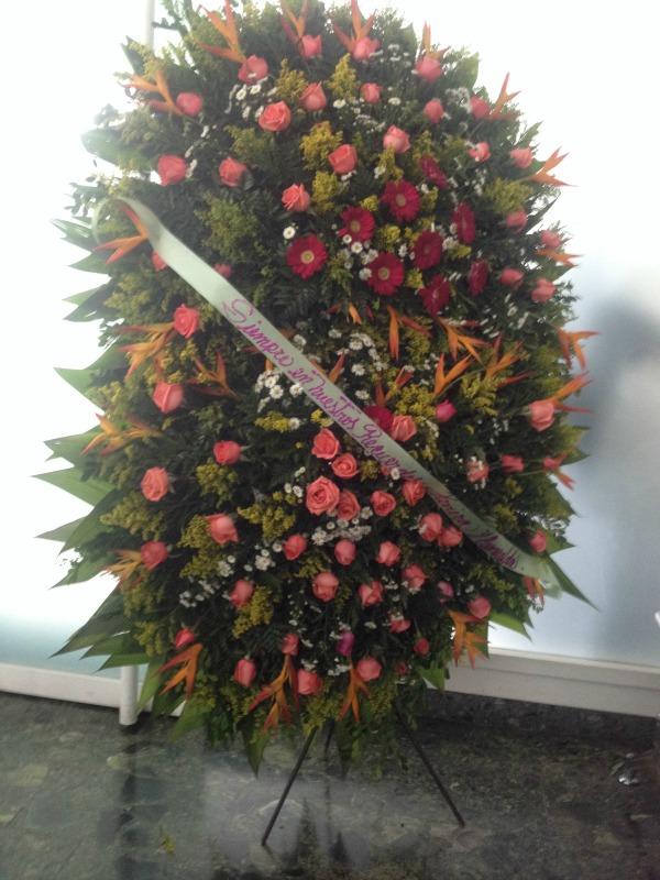 Flores para Jackeline Salazar