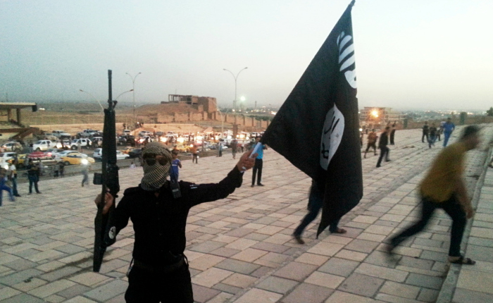 Isis-fighter-in-Mosul-Irak