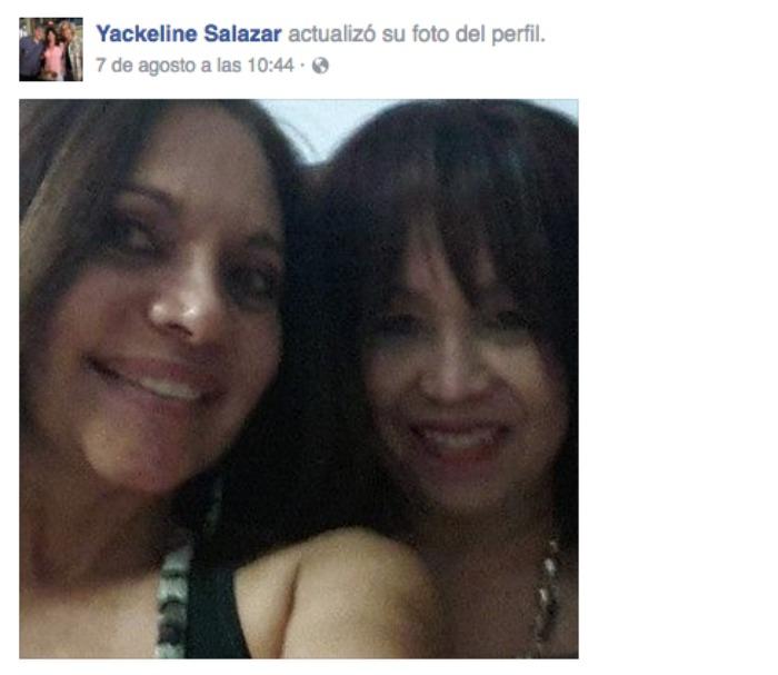 Jackeline Salazar y Liana Hergueta