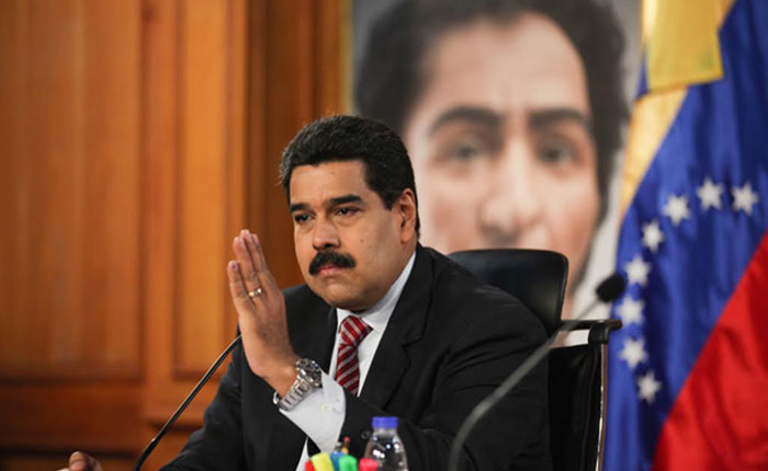 """Maduro: Fue detenido """"un grupo"""" que buscaba generar """"violencia"""" y """"disturbios"""" en Caracas"""