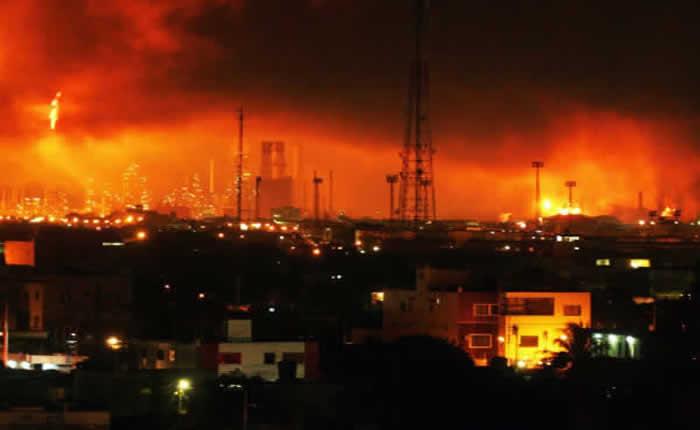 Citaron para imputar a tres funcionarios de Refinería de Amuay por tragedia de 2012