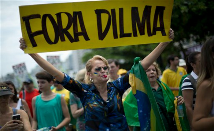 Senado de Brasil ya tendría los votos necesarios para destituir a Dilma Rousseff
