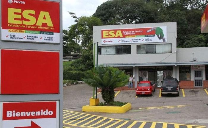 Cobrarán combustible a precios internacionales en 6 estaciones de servicio en Táchira