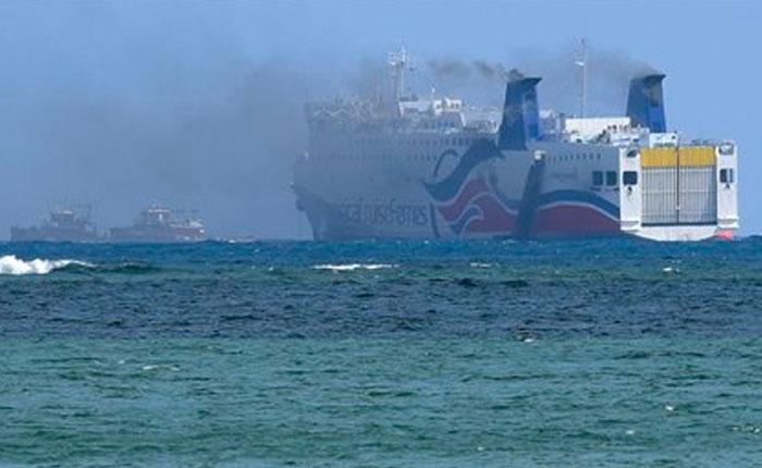 Desalojan a más de 500 personas de un crucero en Puerto Rico por incendio