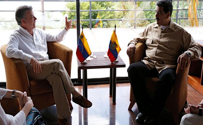 """Maduro dice que Santos es """"el gran derrotado"""" de las elecciones colombianas"""