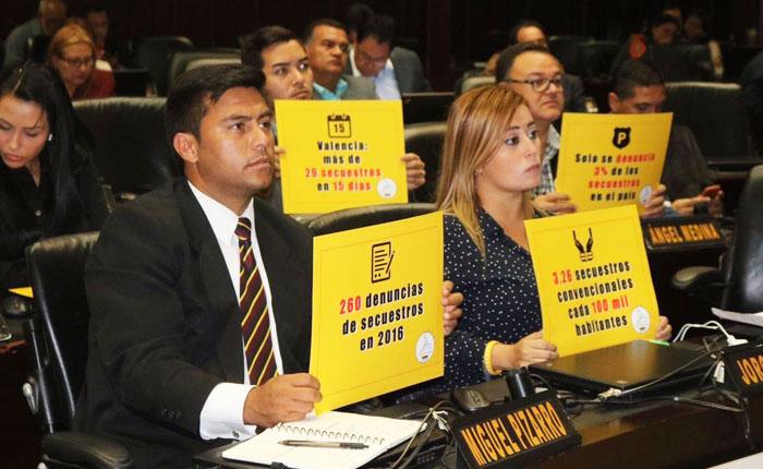 Presentan ante la AN acuerdo para la aplicación de políticas antisecuestros más eficaces