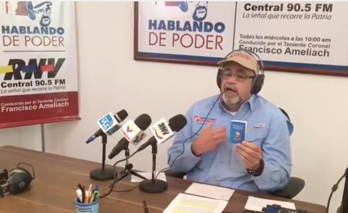 Ameliach: si la MUD recoge el 20%, Maduro podría nombrar a Diosdado vicepresidente