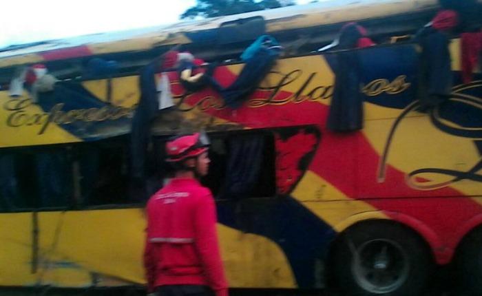 Accidente en el estado Bolívar deja 11 fallecidos y 14 lesionados