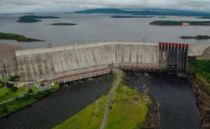 Represa de Guri comienza el año sin llegar al nivel máximo de 271 metros
