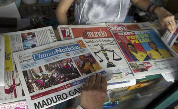 Censura informativa provocó cierre de 55 periódicos