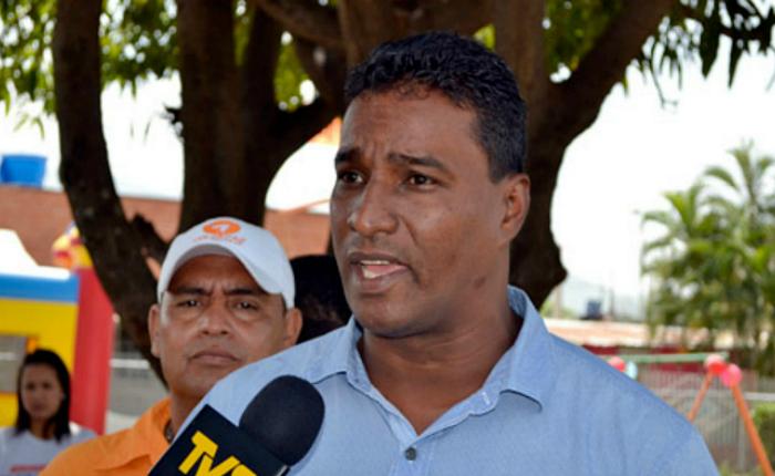 Delson Guarate se escapó de Venezuela por la frontera