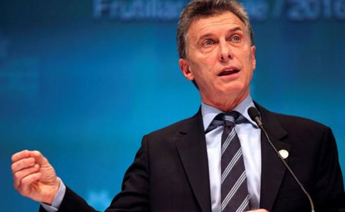 """Mauricio Macri: Argentina """"no va a reconocer"""" presidenciales en Venezuela"""