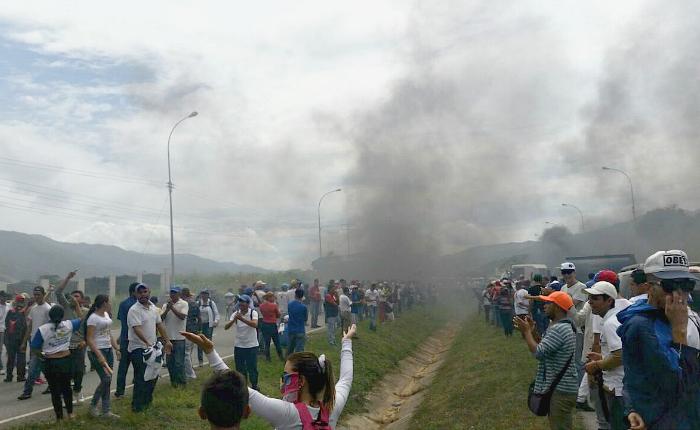 protesta la victoria