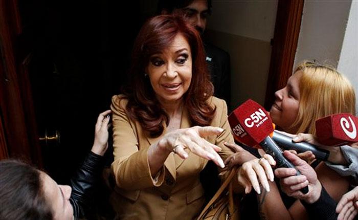 """Cristina Kirchner sobre su juicio:  """"Esto es persecución política de parte del gobierno de Macri"""""""