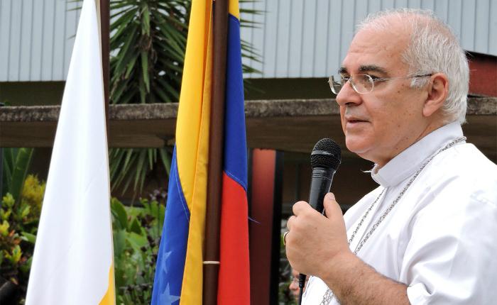 Monseñor Moronta rechaza intervención de Hugbel Roa contra prelados de Iglesia católica