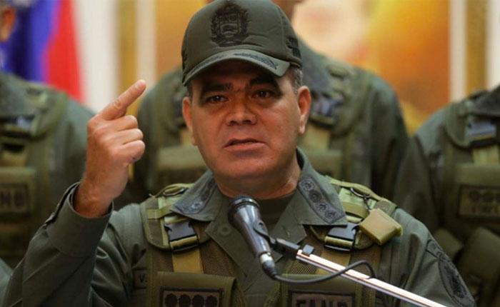 Padrino niega supuesta incursión militar venezolana en Colombia