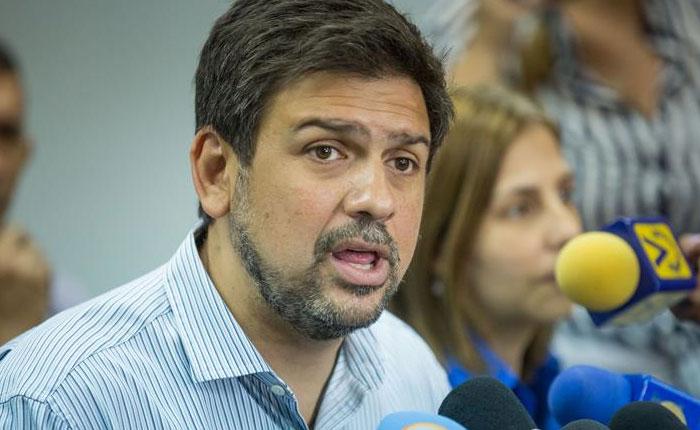 Ocariz: Acuerdos logrados eran parte de los objetivos trazados el #3N