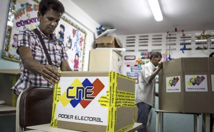 CNE eliminó siete mil mesas de votación ubicadas en zonas opositoras