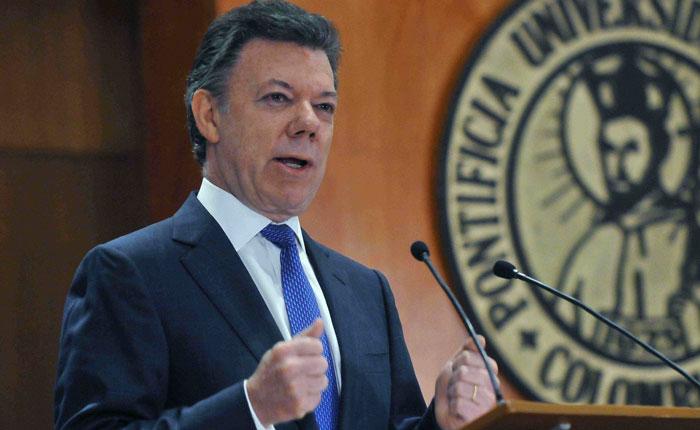 Santos sobre situación en Venezuela: es una destrucción de la institucionalidad democrática