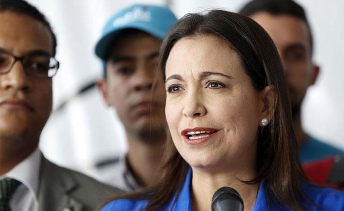 María Corina Machado: Tenemos que retomar el camino del mandato del 16 de julio