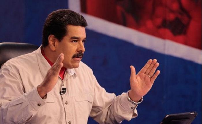 """Maduro rechaza """"amenazas"""" de sanciones de EEUU a Venezuela por Constituyente"""