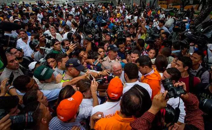 Nuncio Aldo Giordano: El papa conoce muy bien la situación de Venezuela