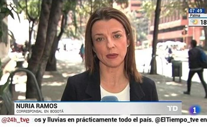 La corresponsal española de RTVE es retenida en el aeropuerto de Caracas