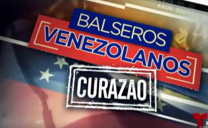 """VIDEO """"Balseros venezolanos en Curazao"""": El rostro de una crisis"""