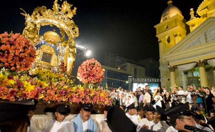 Venezolanos celebran 307 años de fe en La Chinita