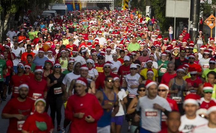 En diciembre vuelve Santa Run, la carrera navideña más especial y divertida
