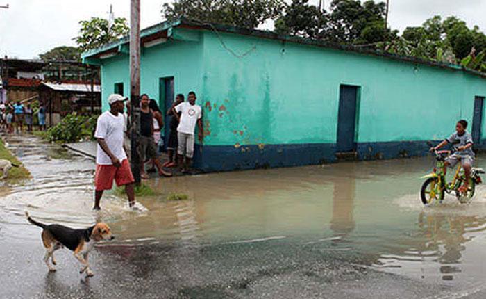 73 viviendas fueron afectadas por las lluvias en Miranda